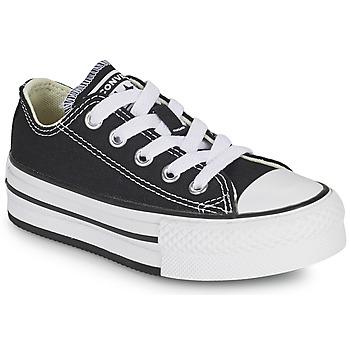 Sapatos Rapariga Sapatilhas Converse CHUCK TAYLOR ALL STAR EVA PLATFORM FOUNDATION OX Preto