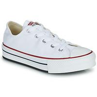 Sapatos Rapariga Sapatilhas Converse CHUCK TAYLOR ALL STAR EVA PLATFORM FOUNDATION OX Branco