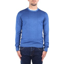 Textil Homem camisolas La Fileria 22792 55167 Azul