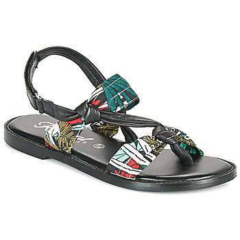 Sapatos Mulher Sandálias Kaporal EVALOU Preto / Multicolor