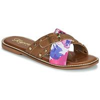 Sapatos Mulher Chinelos Kaporal EMILI Castanho / Multicolor