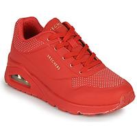 Sapatos Mulher Sapatilhas Skechers UNO STAND ON AIR Vermelho