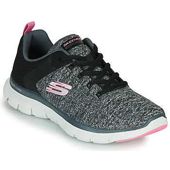 Sapatos Mulher Fitness / Training  Skechers FLEX APPEAL 4.0 Cinza / Rosa