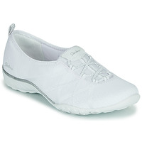 Sapatos Mulher Sapatilhas Skechers BREATHE-EASY A-LOOK Branco