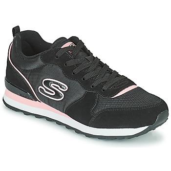 Sapatos Mulher Sapatilhas Skechers OG 85 Preto / Rosa