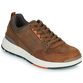 Sapatos Homem Sapatilhas Skechers FAIRLINE Castanho