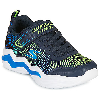 Sapatos Rapaz Sapatilhas Skechers ERUPTERS IV Marinho / Verde