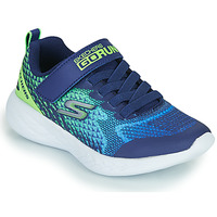Sapatos Rapaz Sapatilhas Skechers GO RUN 600 Azul / Verde