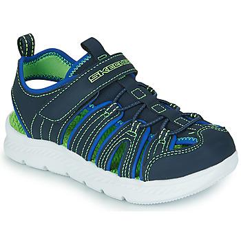 Sapatos Rapaz Sandálias desportivas Skechers C-FLEX SANDAL 2.0 Marinho / Verde