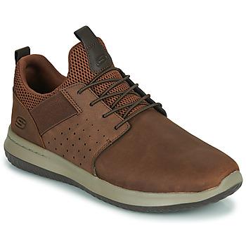 Sapatos Homem Sapatilhas Skechers DELSON AXTON Castanho