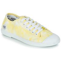 Sapatos Mulher Sapatilhas Le Temps des Cerises BASIC 02 Amarelo