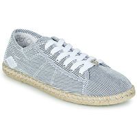 Sapatos Mulher Sapatilhas Le Temps des Cerises BEACH Azul / Branco