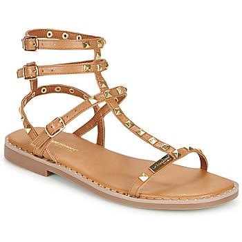 Sapatos Mulher Sandálias Les Tropéziennes par M Belarbi CORALIE Castanho