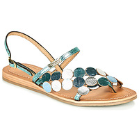 Sapatos Mulher Sandálias Les Tropéziennes par M Belarbi HOLO Prateado / Azul