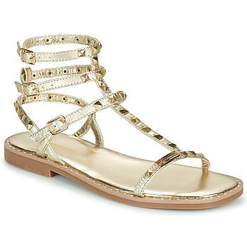 Sapatos Mulher Sandálias Les Tropéziennes par M Belarbi CORALIE Ouro