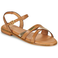 Sapatos Mulher Sandálias Les Tropéziennes par M Belarbi HEXANE Castanho / Ouro