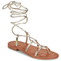 Sapatos Mulher Sandálias Les Tropéziennes par M Belarbi HELLEN Ouro