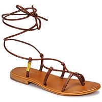 Sapatos Mulher Sandálias Les Tropéziennes par M Belarbi HELLEN Castanho