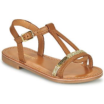 Sapatos Rapariga Sandálias Les Tropéziennes par M Belarbi BADA Mel / Dourado