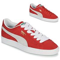 Sapatos Sapatilhas Puma SUEDE Vermelho