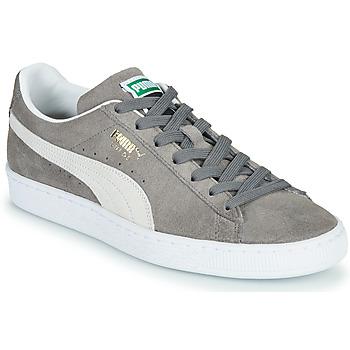 Sapatos Sapatilhas Puma SUEDE Cinza