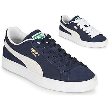 Sapatos Homem Sapatilhas Puma SUEDE Azul