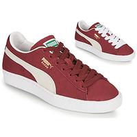 Sapatos Sapatilhas Puma SUEDE Bordô