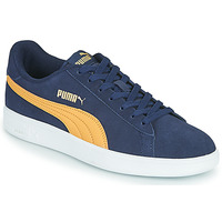 Sapatos Homem Sapatilhas Puma SMASH Azul / Bege