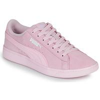 Sapatos Mulher Sapatilhas Puma VIKKY Rosa
