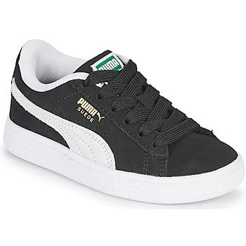 Sapatos Criança Sapatilhas Puma SUEDE PS Preto