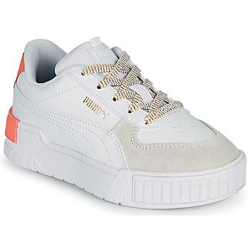 Sapatos Rapariga Sapatilhas Puma CALI SPORT PS Branco / Rosa