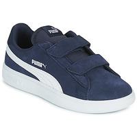 Sapatos Criança Sapatilhas Puma SMASH PS Azul