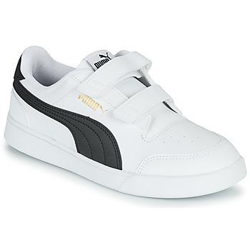 Sapatos Criança Sapatilhas Puma SHUFFLE PS Branco / Preto