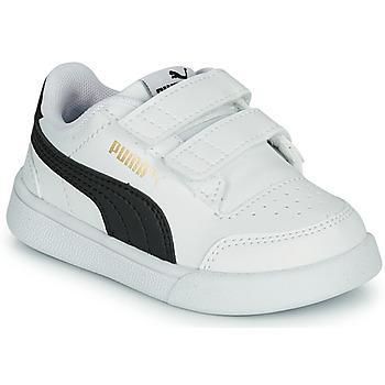 Sapatos Criança Sapatilhas Puma SHUFFLE INF Branco / Preto