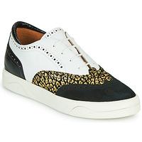 Sapatos Mulher Sapatilhas Mam'Zelle ALIBI Branco / Ouro