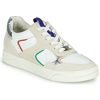 Sapatos Mulher Sapatilhas Mam'Zelle ARTIX Branco / Multicolor