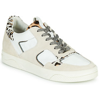 Sapatos Mulher Sapatilhas Mam'Zelle ARTIX Branco / Leopardo
