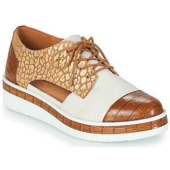 Sapatos Mulher Sapatos Mam'Zelle KIGALI Branco / Castanho