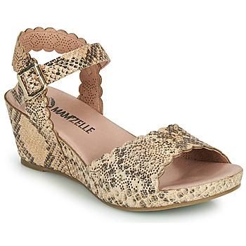 Sapatos Mulher Sandálias Mam'Zelle DOUGA Bege