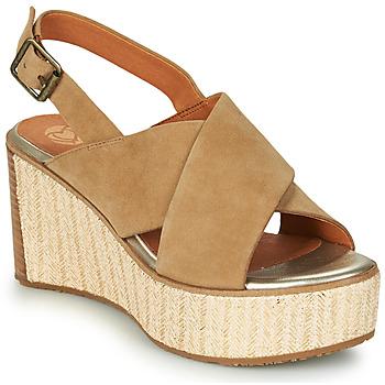 Sapatos Mulher Sandálias Mam'Zelle MEDINA Bege