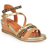 Sapatos Mulher Sandálias Mam'Zelle NAGA Bege / Laranja