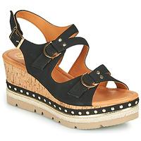 Sapatos Mulher Sandálias Mam'Zelle PAPOTE Preto