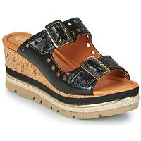 Sapatos Mulher Chinelos Mam'Zelle PULSE Preto