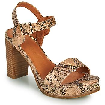 Sapatos Mulher Sandálias Mam'Zelle JAIN Bege