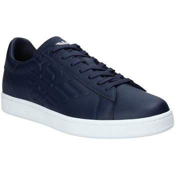 Sapatos Homem Sapatilhas Ea7 Emporio Armani X8X001 XCC51 Azul
