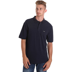 Textil Homem Polos mangas curta Les Copains 9U9015 Azul