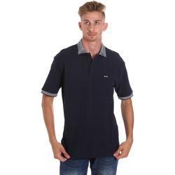 Textil Homem Polos mangas curta Les Copains 9U9024 Azul