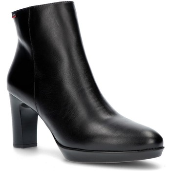 Sapatos Mulher Botins CallagHan PINK ANKLE BOOTS PRETO