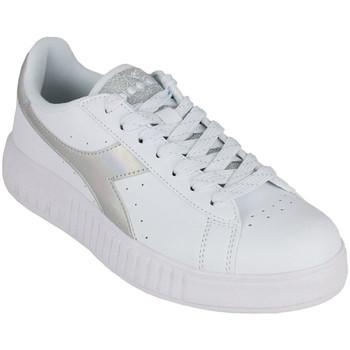Sapatos Mulher Sapatilhas Diadora game step shiny c6103 Prata