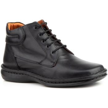 Sapatos Homem Sapatos & Richelieu Cactus Calzados Zapato de hombre de piel by Baerchi (Exodo) Noir